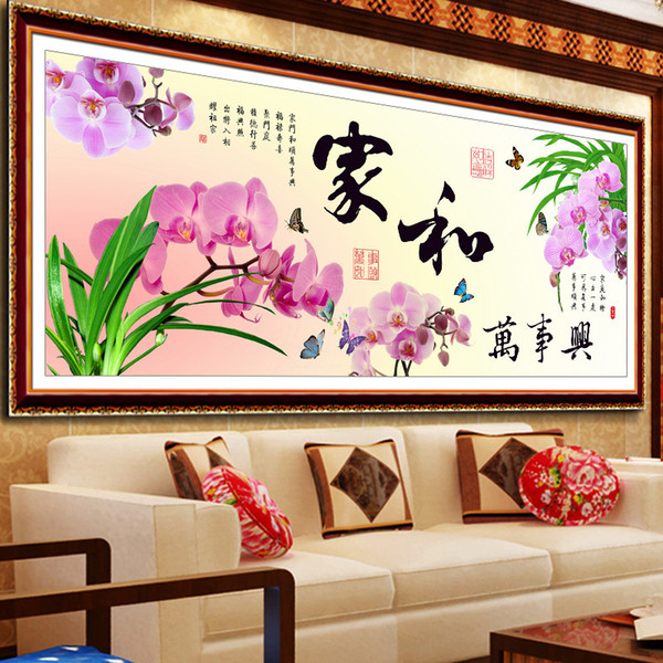 New Pattern 5D Diamonds Painter And Everything Interest A Living Room Will Painting Stick Drill Cross Embroidery Generation Hair