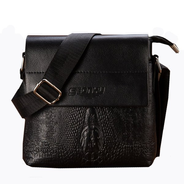 Leather bag Messenger Business Men's Briefcase Designer Handbags High Quality Multifunction Capacity Mens Single Shoulder Bags