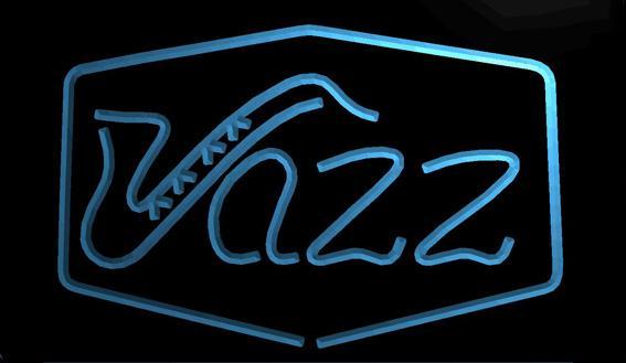 LS1014-b-Jazz-Bar-Música-Live-Pub-Club-NOVO-Neon-Light-Sign Decor Frete Grátis Dropshipping Atacado 8 cores para escolher
