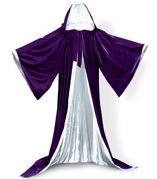 Purple+ White lining