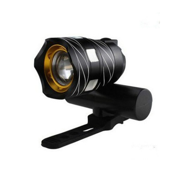 T6 Waterproof Design LED Bicycle Headlight Rechargeable USB Charging Adjustable Zoom Bike Front Lamp Built-in Battery NEW