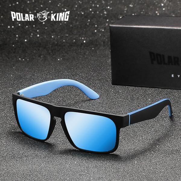40acc9f0430 POLARKING Brand Men Fashion Polarized Sunglasses Men s Plastic Square Driving  Eyewear Travel Sun Glasses Oculos de