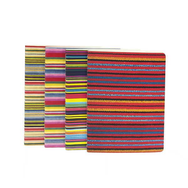 TAYLOR STRIPES Soft Cover A6 A5 Lined Notebook Ruled Journal