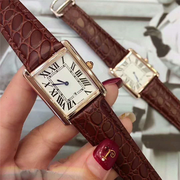 Aşıklar kadın erkek saatler çift lüks İzle Hakiki Deri kayış kuvars İzle mens bayanlar için Rahat elbise Sevgililer Hediye saatı