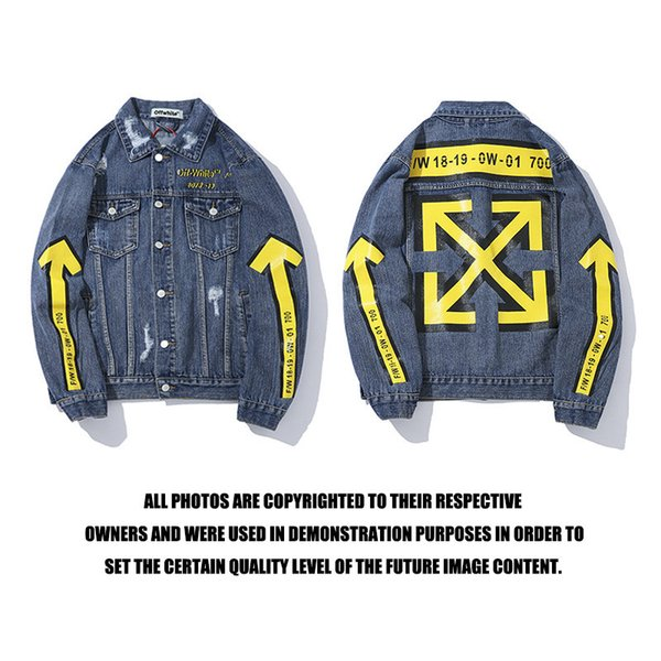 Jackets Coat Autumn And Winter New Pattern Street Tide Card Yellow Cowboy Man Teenagers Leisure Time Clothing