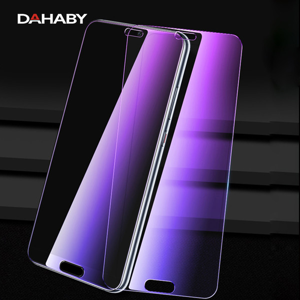 DAHABY For Huawei Mate 8 10 P20 Pro P10 Matte Frosted Anti UV Purple Blue Light Guard HD Film Tempered Glass Screen Protector