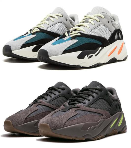 Men Kanye West Running Shoes Mauve Wave Runner 700 3M Material OG EE9614 B75571 Women Trainers Designer Sneakers Best Quality Boots