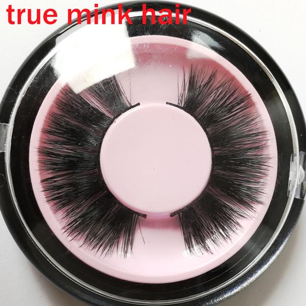 Real mink hair full strip lash hand made long lasting thick long permanent eyelashes shining eyes false winged fake lashes GR256
