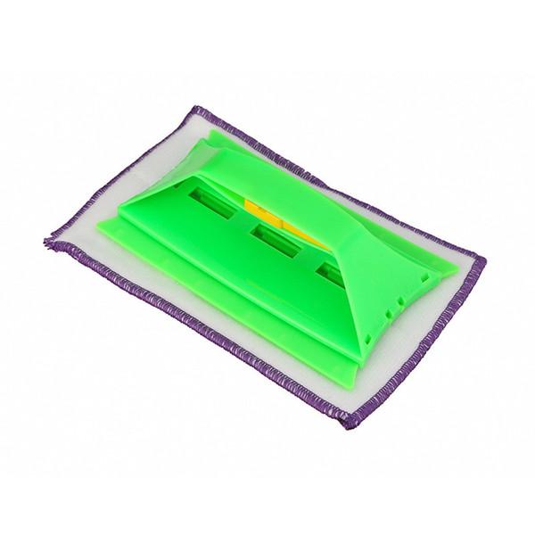 Limpiador de vidrio multifuncional Limpiador de vidrio de doble cara Raspador WindowGlass Clean Brush Limpiador de vidrio de ventana Herramientas