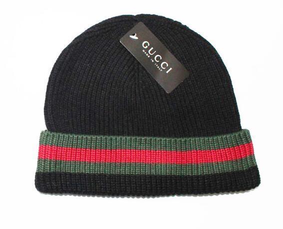 Automne Hiver Chapeaux Pour Femmes Hommes Italie Marque Designer Mode Bonnets Skullies Chapeu Caps Coton Gorros Touca De Inverno