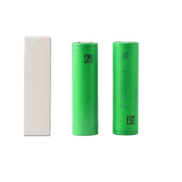 All'ingrosso della fabbrica VTC6 3000mAh VTC5 2600mAh VTC4 2100 mAh 3.7 V Li-ion 18650 batterie ricaricabili utilizzando per Ecig Box Mods Giocattoli