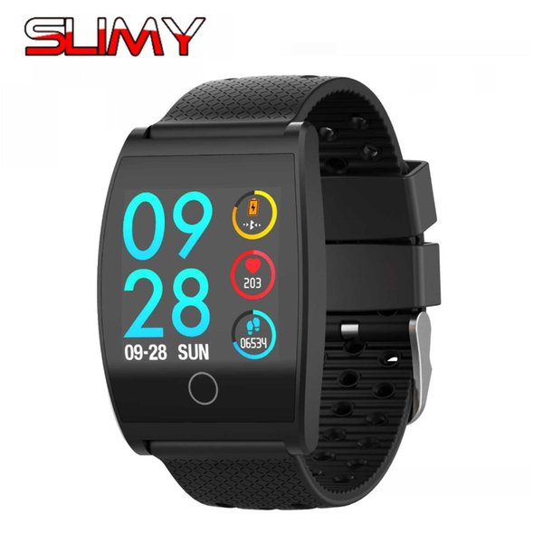 wholesale Smart Watch QS05 Color Screen Calorie Exercise Heart Rate Pedometer Smartwatch Wearable Devices Wristwatch Blood Pressure