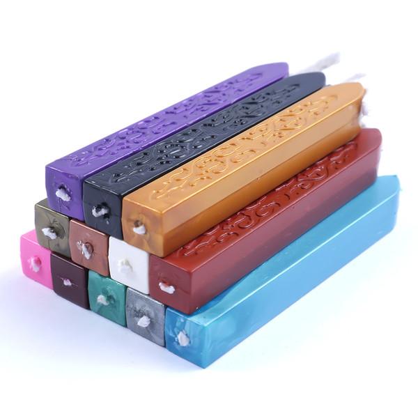 10 Farbe DIY Dichtungsstreifen Dedicated Bienenwachs Stick Branding Paint Stamp Siegelwachs Sigillo Handmade Hobby DIY Tools