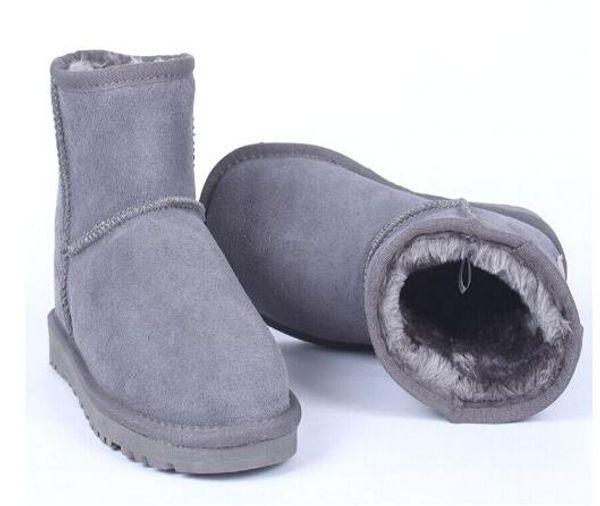 2018 Classic New Brand Women Popular Australia Genuine Leather Boots Fashion Men's Snow Boots Unisex Shoes Size US4-US14