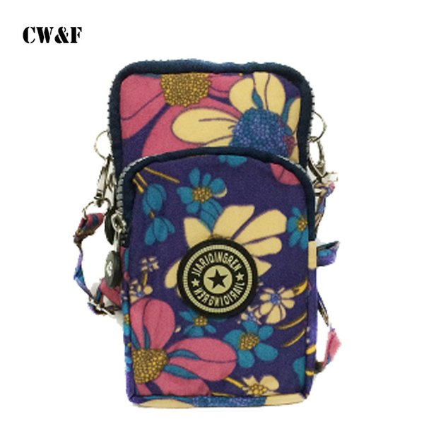 2018 small luggage travel bags women phone bag case for walking halter wrist package pouch puse