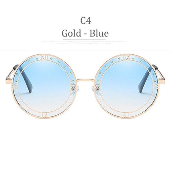 C4 Grado Blu Gradiente Blu