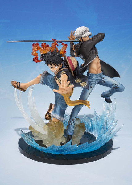 One Piece Luffy Trafalgar Law 5th Anime Collectible Action Figures PVC Collection toys for christmas gift with Retail box