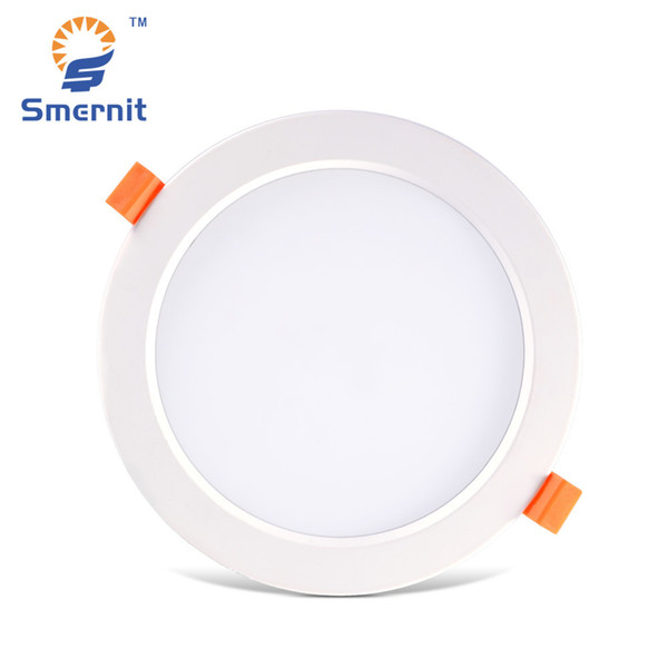 2019 Panel Led Light 7w 9w 12w 18w 24w 30w Ac165 265v Flat Panel Lighting Lamp Downlight Recessed Round Ceiling Light 220v Down From Biaiju 34 8