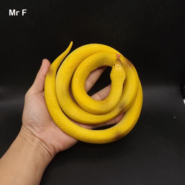 Big Novelty Halloween Gift Tricky Funny Spoof Snake Fake Animal Model Props Joke Prank Toy Children