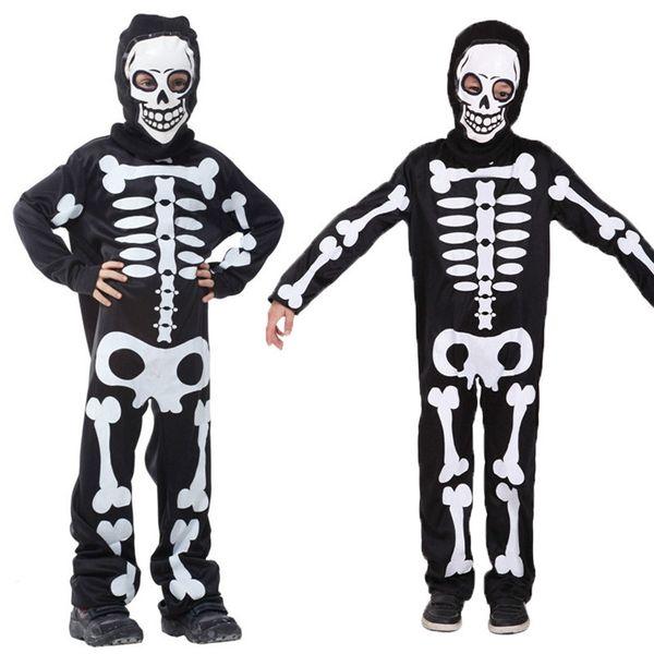 2018 Kids Halloween Carnival Party Costume Boys Girls Terror ...
