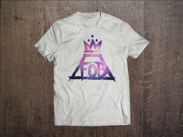 Fall Out Boy Graphic Men White T-Shirt Rock Band Fob Fan Tee Shirt Size S-Xxl 1 T Shirt Men Man's Top Design Custom Short Sleeve Big Size