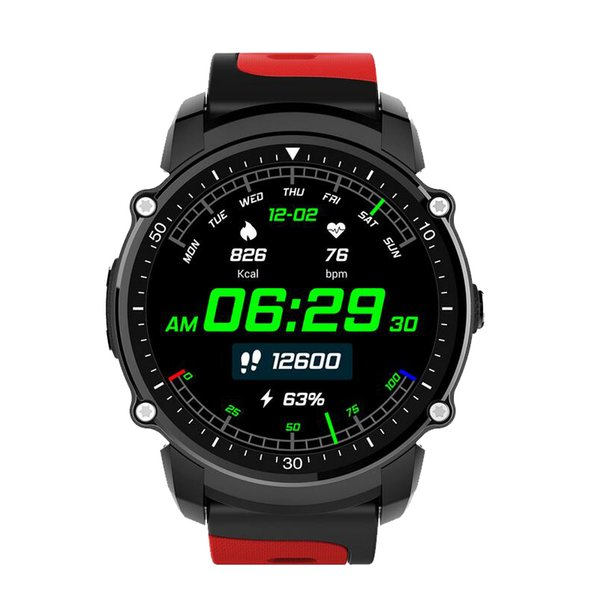 Nuevo lanzamiento FS08 Bluetooth Smart Watch impermeable IP68 Swim GPS Sport Fitnes Tracker Cronómetro Monitor de ritmo cardíaco Reloj 1 unids