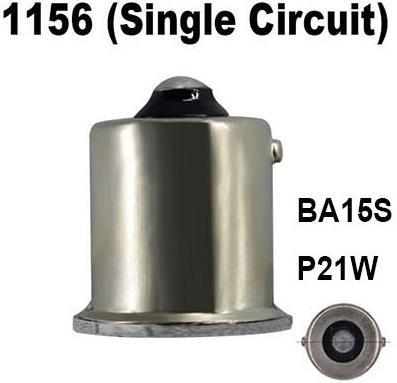 1156 P21W BA15S