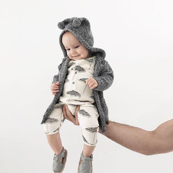 Abbigliamento infantile del bambino 2018 Estate Neonato Abbigliamento Ombrello Stampa Abbigliamento per bambini Neonato pagliaccetto Tuta Abiti Abbigliamento per ragazze Tuta