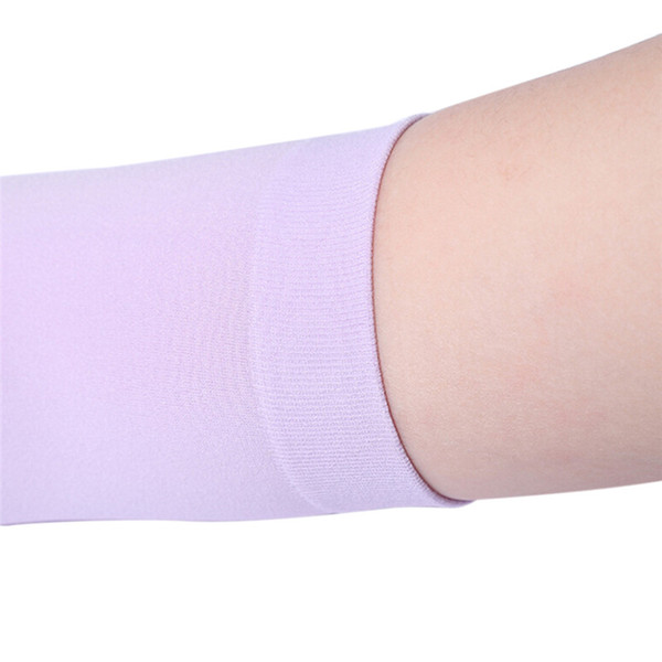 Anti-UV Long Gloves Women Sunscreen Arm Warmer Half Finger Cotton Long Fingerless Gloves Cuff Sun Hand Protection