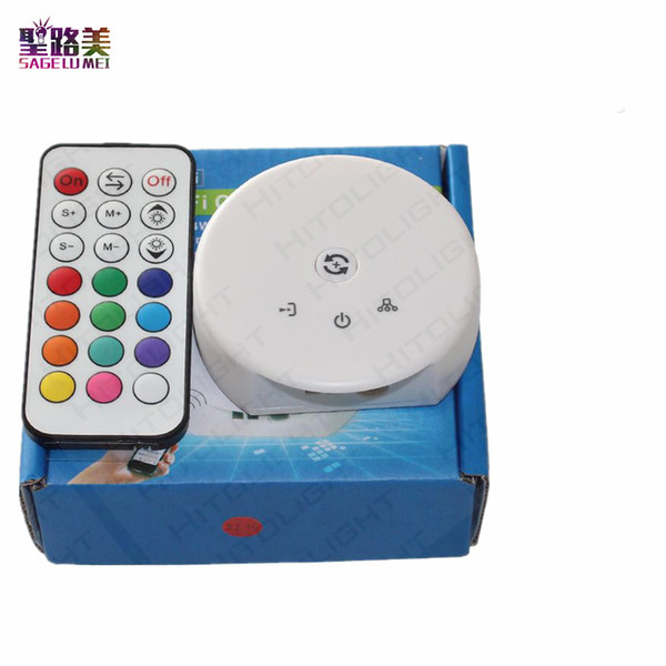 Wifi UFO RGB RGBW LED controller RF Remote Da Magic Home Phone Controller WIFI Controllo iOS Android per 5050 3528 LED Strip Light