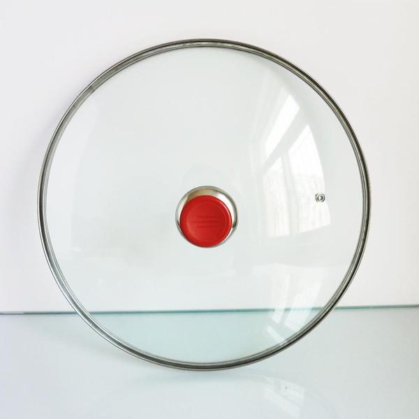 Toptan-Mutfak tencere araçları sadece 32 cm woks için uygundur tava tencerede temperli cam süper kalite ücretsiz kargo bir parça
