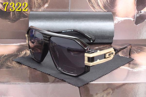 Polarized Sunglasses Men Frame Aluminium Magnesium Temple Summer Style Luxury Sun Glasses With Box UV400 With Original Box