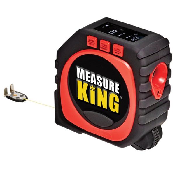 Regla electrónica 3 en 1 Cinta métrica Medida Cinta métrica de medición láser Número de LCD Herramientas para el hogar