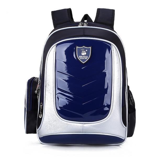 Nuovo 2018 PU pelle impermeabile ortopedico zaino ragazzi sacchetti di scuola Backpac per le ragazze Portfolio School Satchel Kids Schoolbag