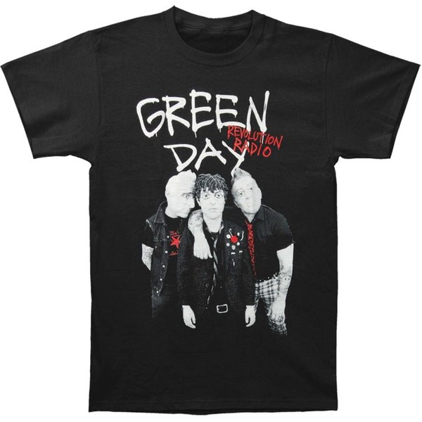 2018 New Summer Men Hot Sale Fashion Green Day Men's Red Hot Tee T-ShirtMen T-Shirt Lowest Price 100 % Cotton