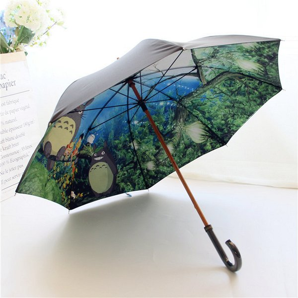 Professional Sale New Children Umbrella Creative Cartoon Animation Umbrella To Customize Waterproof Umbrella For Kids Umbrellas Rain Gear