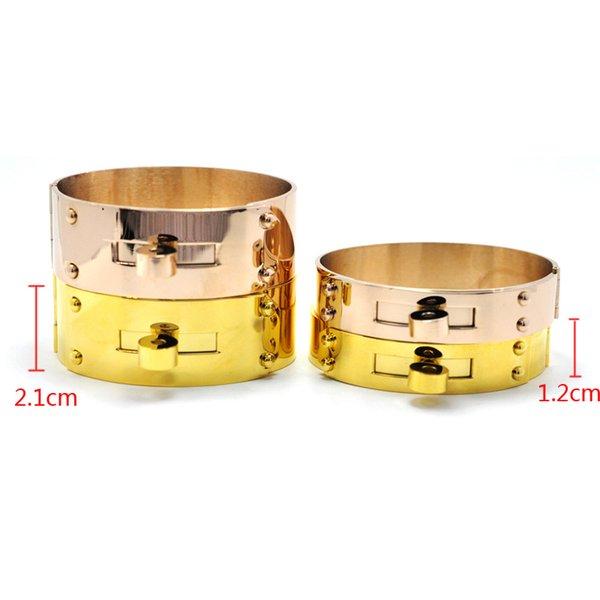 весь бренд saleFYSARA рок ювелирные изделия 21 мм / 12 мм предплечье большой широкий браслет Браслет для мужчин женщин любовь ювелирные изделия манжеты H браслет Manchette
