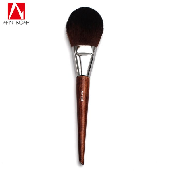 Professional Cosmetic Tool Long Wood Handle Soft Synthetic Hair Flat Tapered Tip 128 Flexibility Precision Makeup Powder Brushes