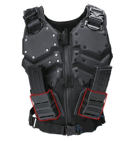 Scaricamento Tactical Men Combat Vest Tactical Military Vest Camouflage Vest Body Molle Armatura Cs Jungle Equipment Masculino Giacche
