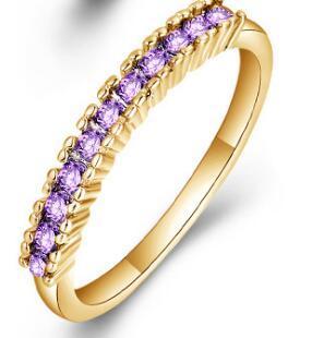 Золото Фиолетовый кристалл