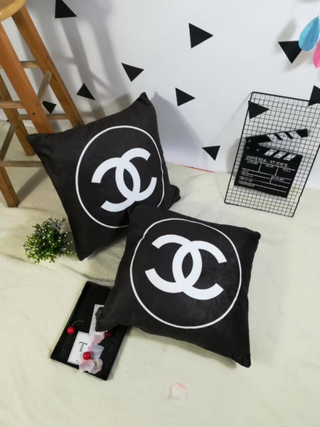 New fa hion de ign brand new pillow ca e decoration 50 50cm fa hion pillow fa hion brand pillow no pillow