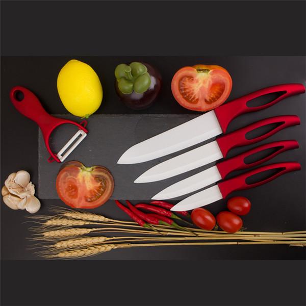 """Permium Kitchen knife set 5pcs Ceramic knives 3"""" 4"""" 5"""" 6"""" Paring knife Fruit knives chef knife set"""