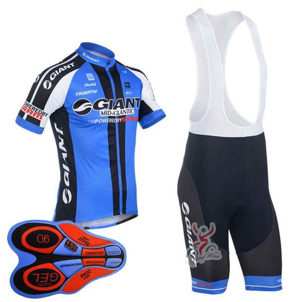 2018 Pro team Giant Cycling Jersey Ropa ciclismo road bike racing clothing bicycle clothing Summer short sleeve riding shirt 10425J