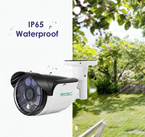 SV3C SV - B01 HD 1080P IP Camera with POE Night Vision H.264 Outdoor Waterproof P2P Remote Control Security Cam Motion Detection