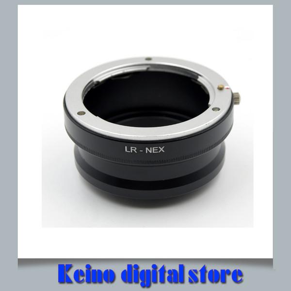 Envío gratis Lente LR R para el adaptador de lente Leica To Sny E Mount LR-NEX para NEX3 NEX7 NEX-5N NEX C3 NEX-5R NEX VG10 Adaptador