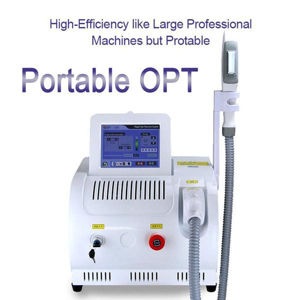 Machine d'épilation de laser de chargement initial de SHR portatif Plus populaire de machine de laser de chargement initial d'E-Lumière de SHR IPL de rajeunissement de machine Meilleure vente de machine d'OPT de SHR