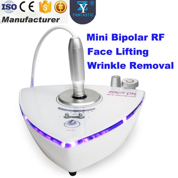 Macchina facciale di rafforzamento della pelle bipolare di radiofrequenza che invecchi la rimozione della grinza della grinza Trattamento di RF Macchina portatile di RF Uso domestico