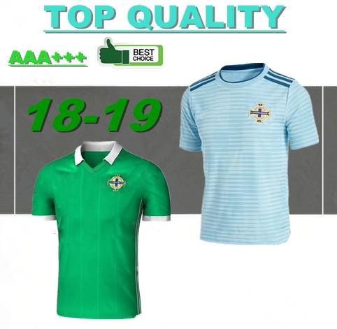 Northern Ireland soccer jerseys 2018 World Cup home green DEL NORTE Tuaisceart Eireann McNAIR K.LAFFERTY DAVIS football shirts away jersey