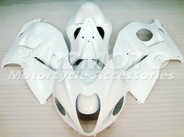 New Hot ABS Plastic motorbike Fairing Kits 100% Fit For suzuki GSXR1300 97 98 99 0107 Hayabusa 1997 1998 2007 GSX-R1300 White F34
