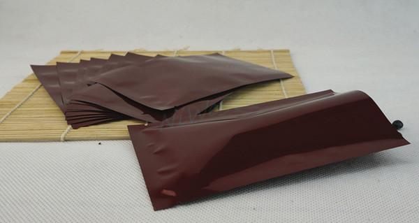 Free ship 10x15cm, 200pcs/lot Red aluminum foil flat heat seal bag, storage milk powder mylar ping pocket, food plastic packing plain sack